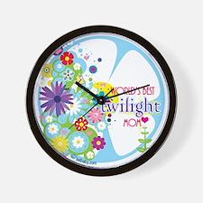 World's Best Twilight Mom Wall Clock