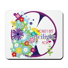 World's Best Twilight Mom Purple Mousepad