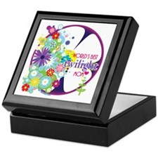 World's Best Twilight Mom Purple Keepsake Box