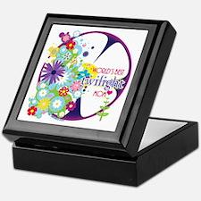 World's Best Twilight Mom Purple Keepsake Box