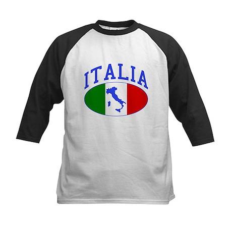 Italia Italian Kids Baseball Jersey