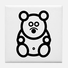 Just The Bear Tile Coaster