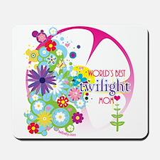 World's Best Twilight Mom Pink Mousepad