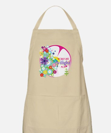 World's Best Twilight Mom Pink Apron