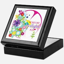 World's Best Twilight Mom Pink Keepsake Box