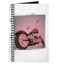 motorcycle in pastel Journal