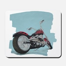 Motorcycle in Pastel Mousepad