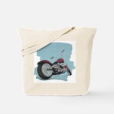 Motorcycle in Pastel Tote Bag