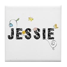 Jessie Floral Tile Coaster