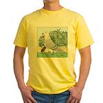American Show Racer #8 Yellow T-Shirt