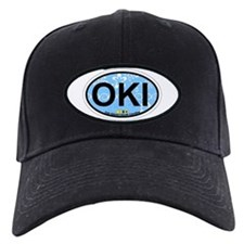 Oak Island NC - Oval Design Baseball Hat