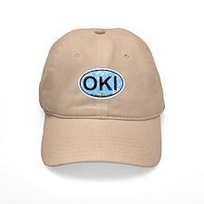 Oak Island NC - Oval Design Cap