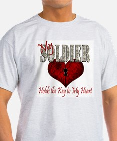 Unique Key to my heart T-Shirt