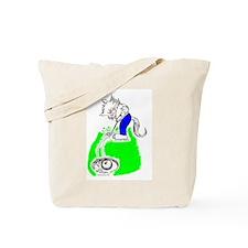 Golf Cat Tote Bag