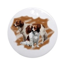 Kooikerhondje group Ornament (Round)