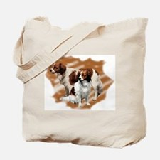 Kooikerhondje group Tote Bag