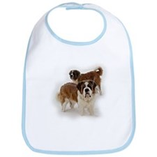 Saint Bernards in the snow Bib