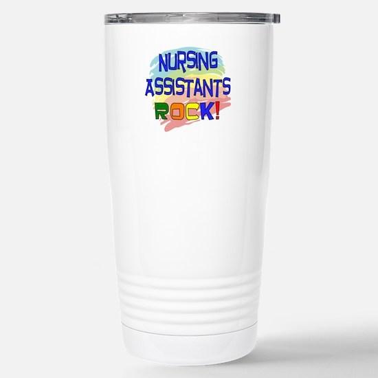 Nursing Assistant Stainless Steel Travel Mug
