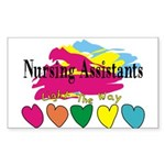 Nursing Assistant Sticker (Rectangle 10 pk)