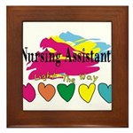 Nursing Assistant Framed Tile