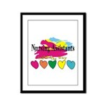 Nursing Assistant Framed Panel Print