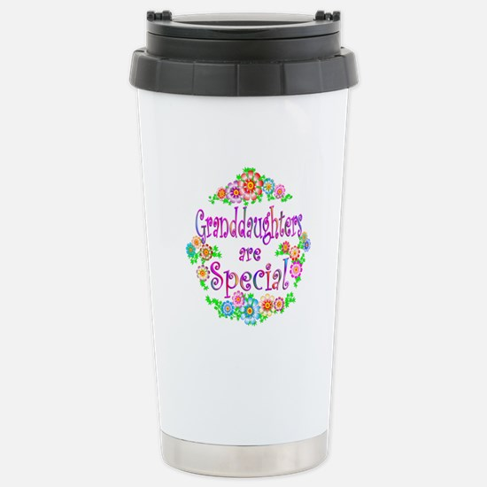 Granddaughter Stainless Steel Travel Mug