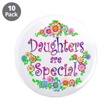 """Daughter 3.5"""" Button (10 pack)"""