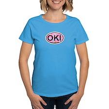 Oak Island NC - Oval Design Tee