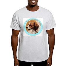 Kooikerhondje Addict Ash Grey T-Shirt
