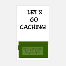 Let's Go Caching! Rectangle Decal
