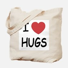 I heart hugs Tote Bag