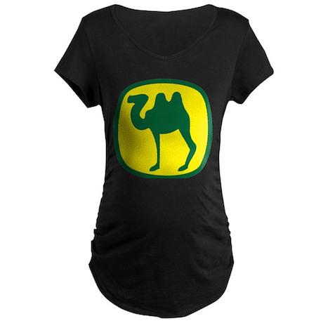 John Camel Maternity Dark T-Shirt