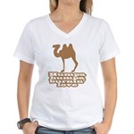 Humpa Humpa Burnin' Love Women's V-Neck T-Shirt