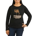 Humpa Humpa Burnin' Love Women's Long Sleeve Dark