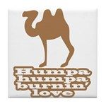 Humpa Humpa Burnin' Love Tile Coaster