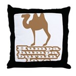 Humpa Humpa Burnin' Love Throw Pillow