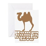 Humpa Humpa Burnin' Love Greeting Cards (Pk of 10)