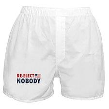 Re-Elect Nobody Boxer Shorts