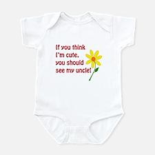Cute Uncle Infant Bodysuit