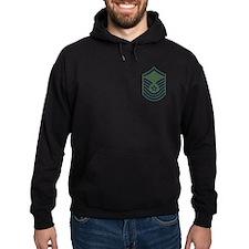 SMSgt Pre-1992 Stripes Hooded Sweatshirt 7