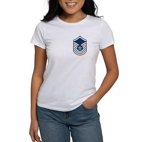 SMSgt Obsolete Stripes Women's T-Shirt 6