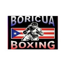 Cute Boxeo Rectangle Magnet