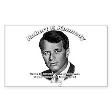 Robert F. Kennedy 02 Rectangle Decal
