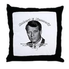 Robert F. Kennedy 02 Throw Pillow