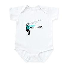 Unique Community radio station Infant Bodysuit