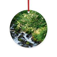 Peace Like a River Ornament (Round)