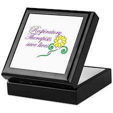 Cute Respiratory therapist Keepsake Box