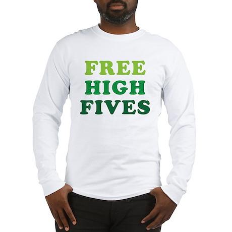 freehighfives Long Sleeve T-Shirt