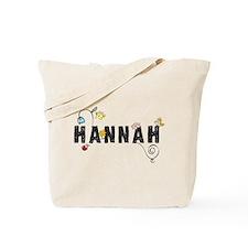 Hannah Floral Tote Bag