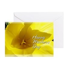 Yellow Tulip Mother's Day Cards 5x7 (10 Pk)